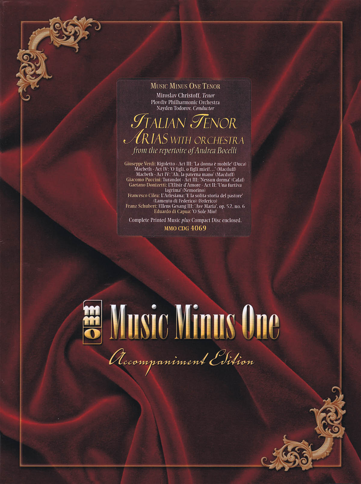 Andrea Bocelli: Italian Tenor Arias with Orchestra: Vocal Solo: Vocal Collection