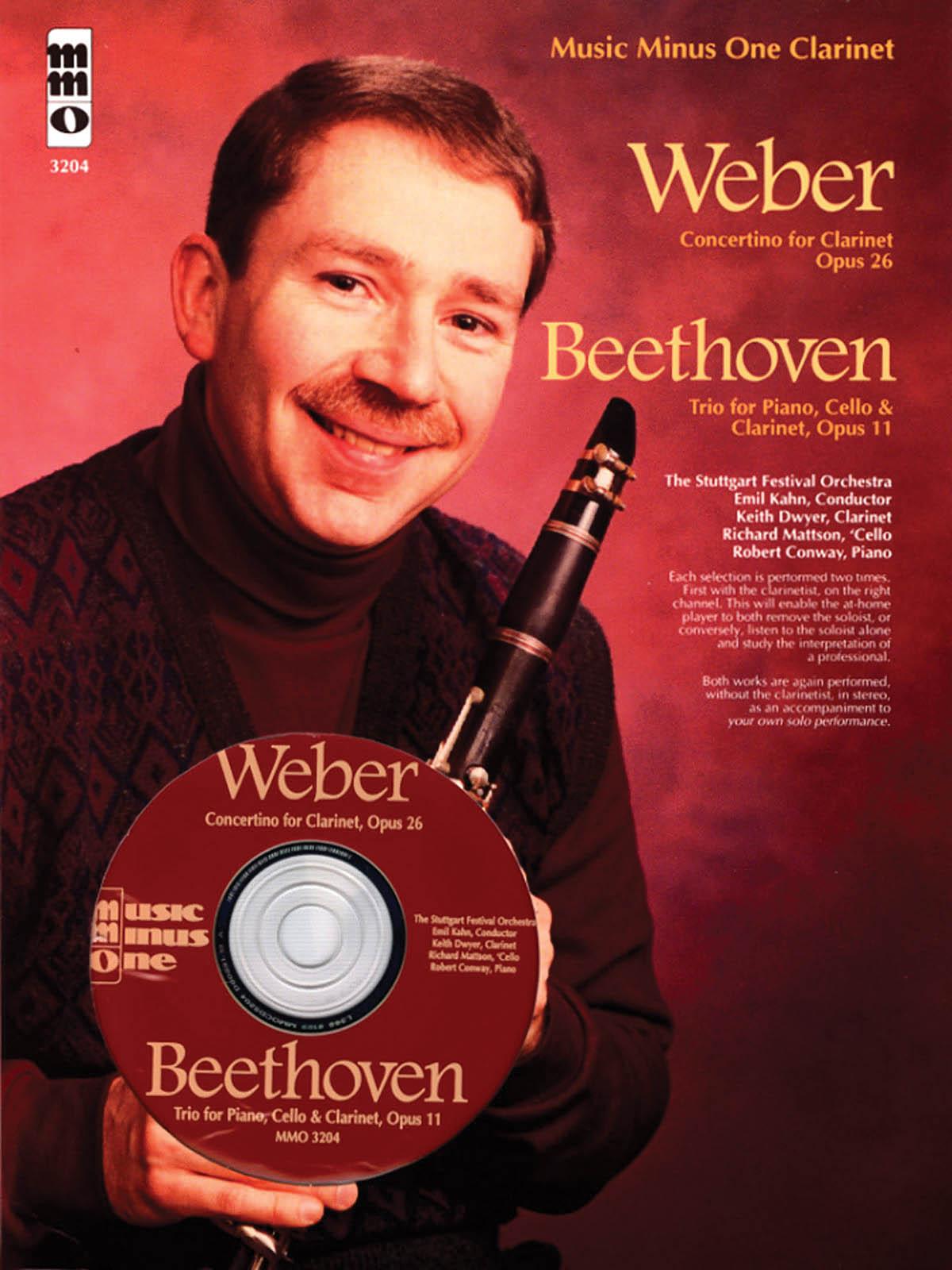 Wolfgang Weber Ludwig van Beethoven: Concertino Op. 26 - Trio Op. 11: Clarinet