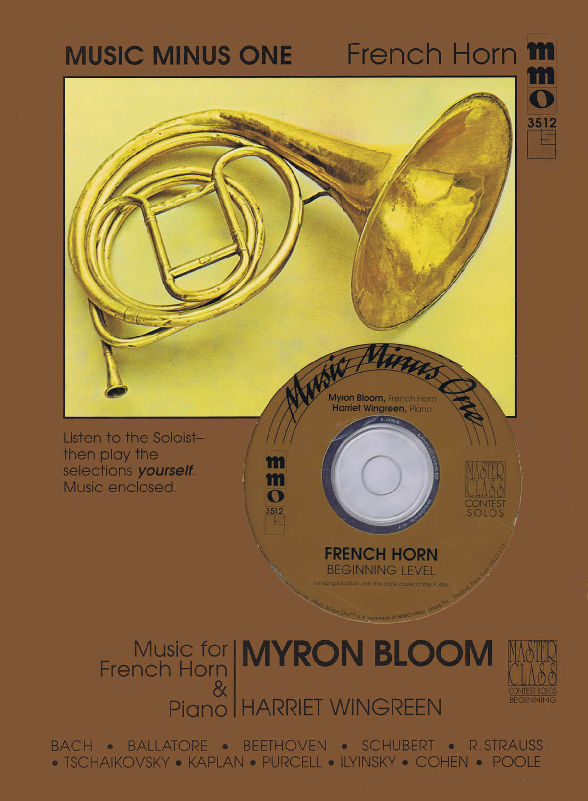 Myron Bloom: Beginning French Horn Solos - Volume 2: French Horn Solo: