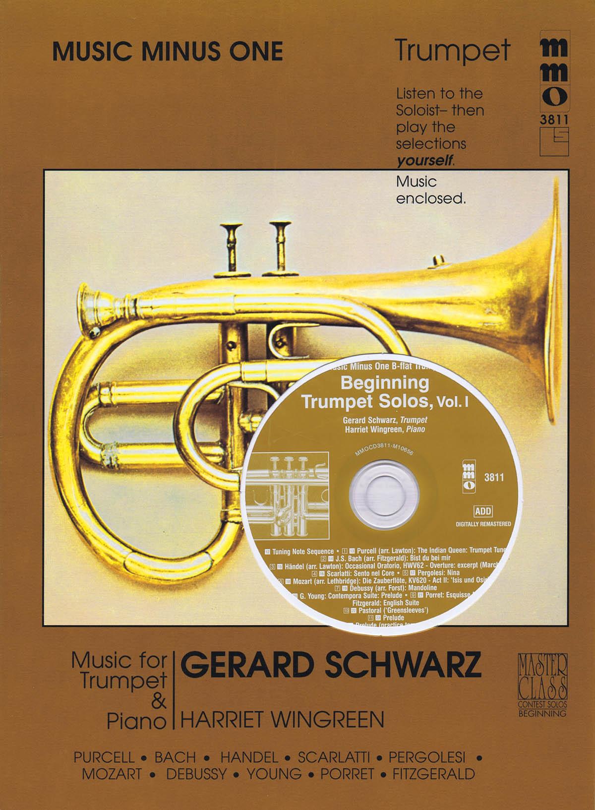 Gerard Schwarz: Beginning Trumpet Solos - Vol. 1: Trumpet Solo: Instrumental
