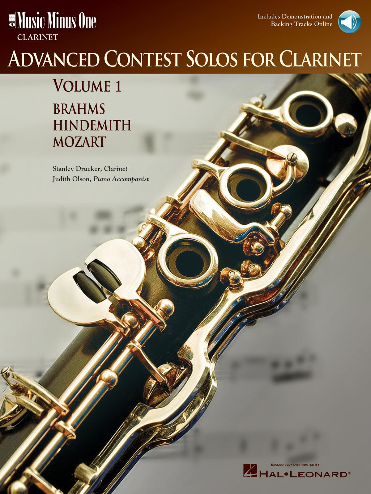 Stanley Drucker: Advanced Clarinet Solos - Volume I: Clarinet Solo: Instrumental
