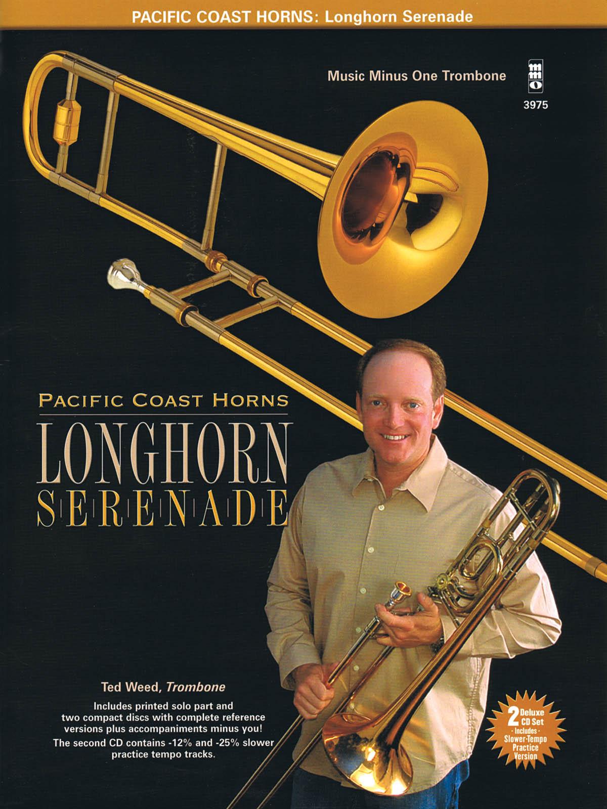 Pacific Coast Horns: Pacific Coast Horns  Volume 1 - Longhorn Serenade: Trombone