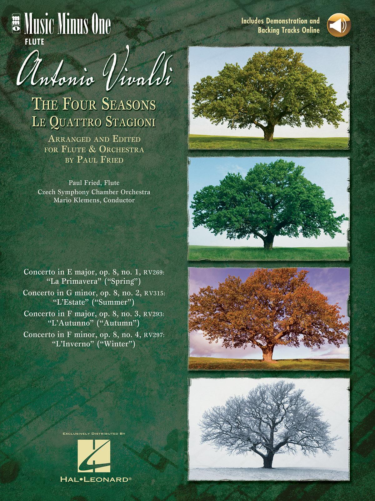 Antonio Vivaldi: Vivaldi: The Four Seasons for Flute: Flute Solo
