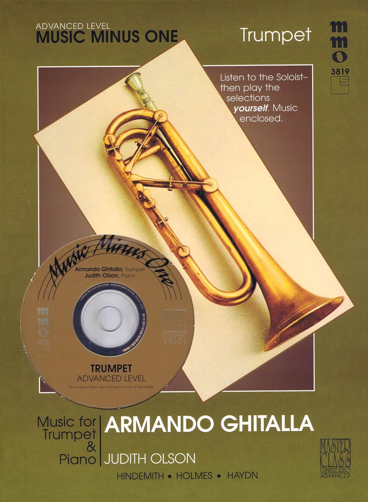 Armando Ghitalla: Advanced Trumpet Solos - Volume III: Trumpet Solo: