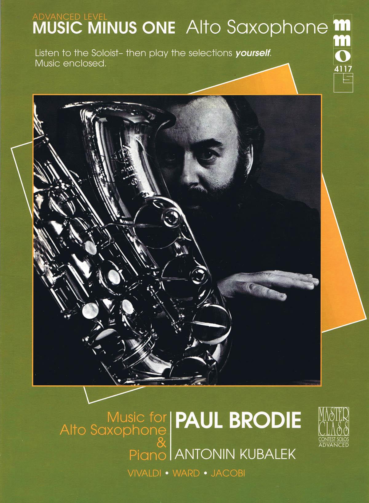 Advanced Alto Saxophone Solos - Volume 3: Alto Saxophone: Instrumental Album
