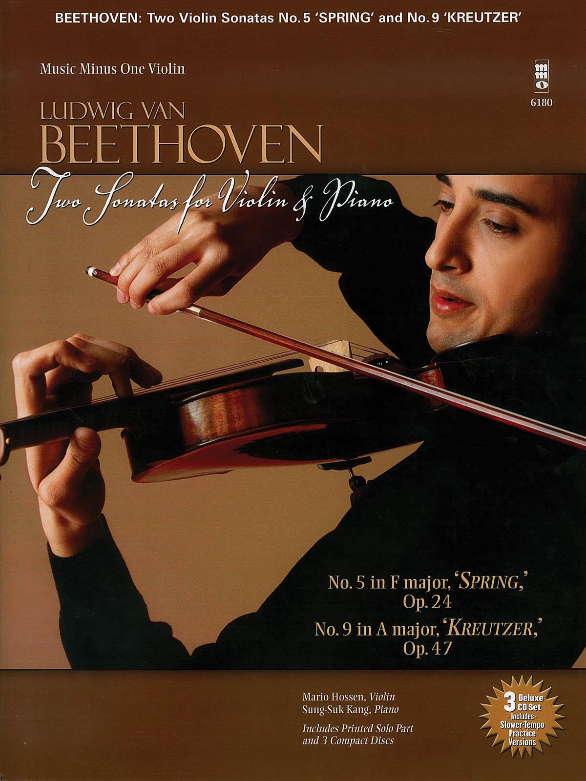 Ludwig van Beethoven: Beethoven - Two Sonatas for Violin and Piano: Violin and