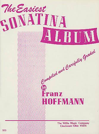 Easiest Sonatina Album: Piano: Instrumental Album