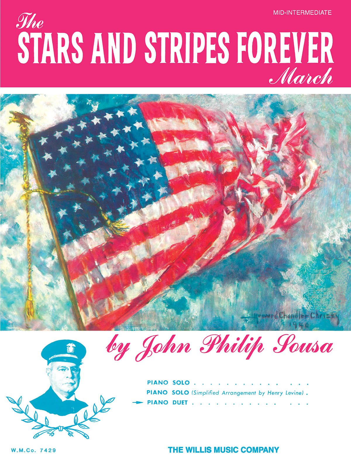 John Philip Sousa: The Stars and Stripes Forever March: Piano: Instrumental