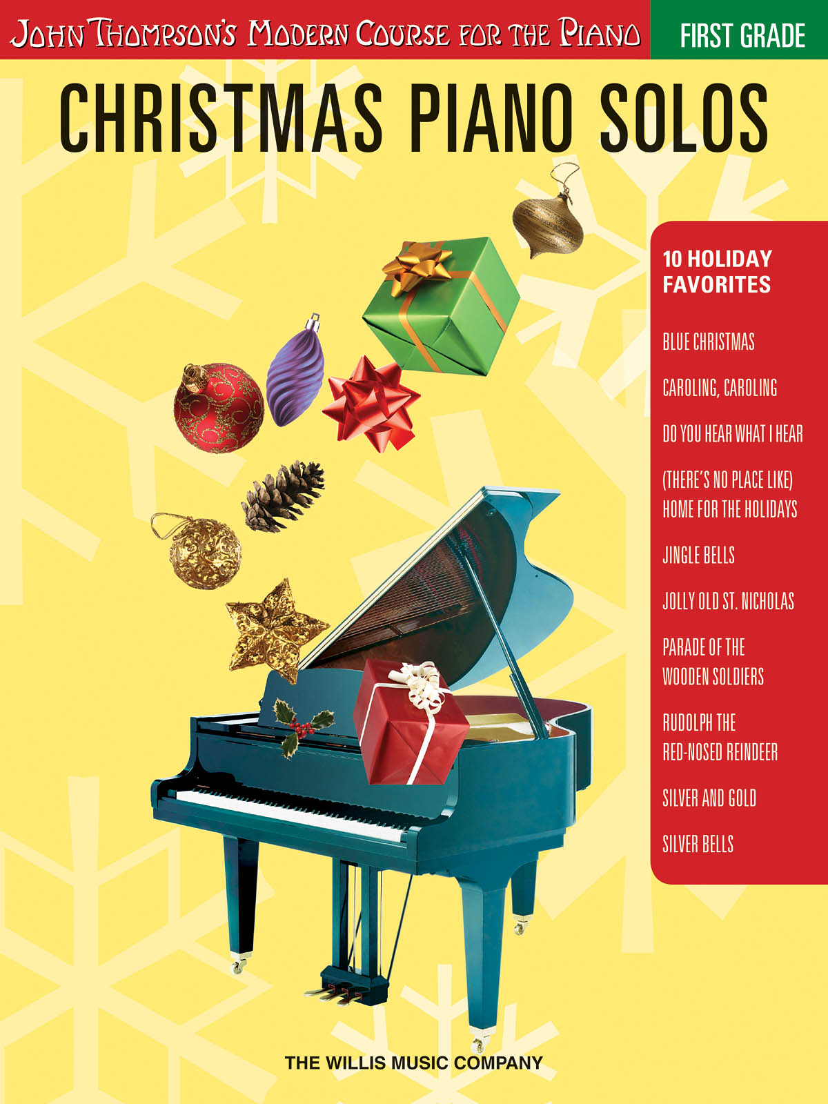 Christmas Piano Solos - First Grade: Piano: Instrumental Album