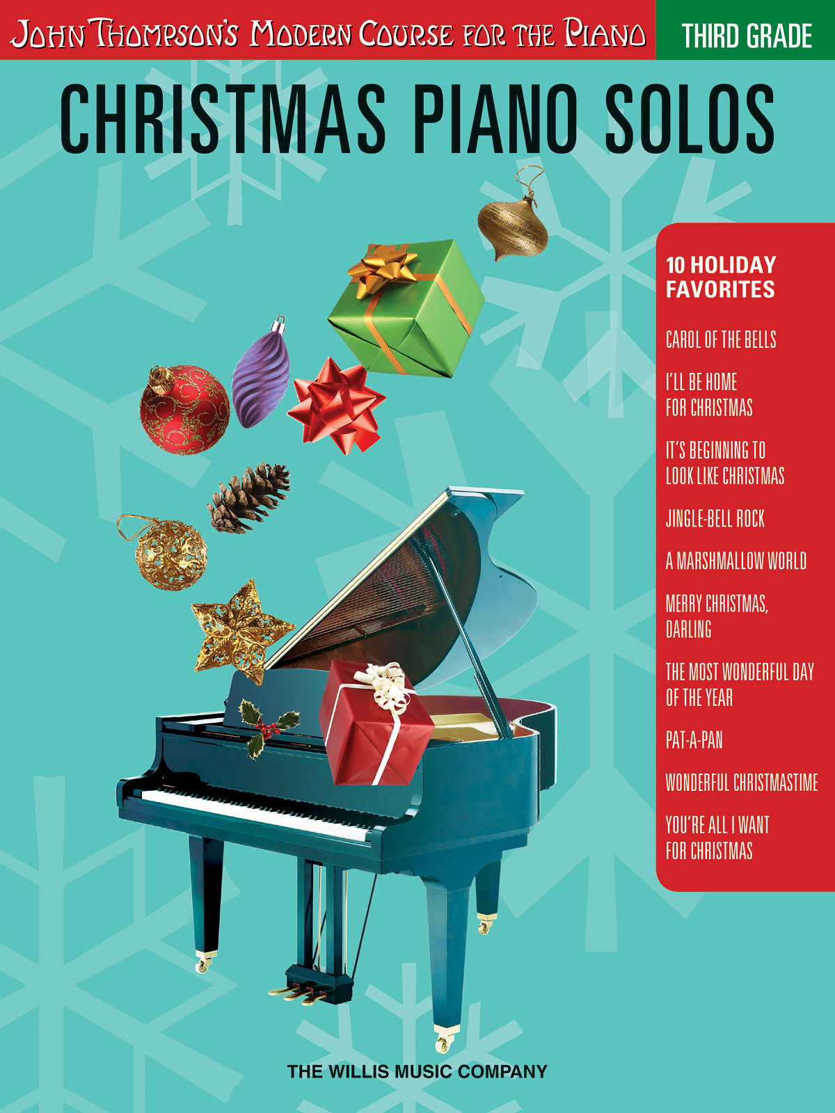 Christmas Piano Solos - Third Grade: Piano: Instrumental Album