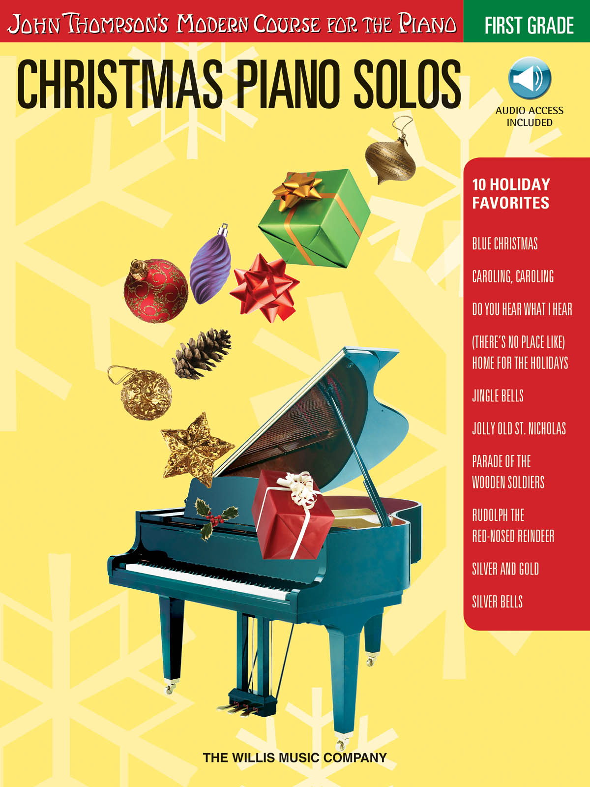 Christmas Piano Solos First Grade: Piano: Instrumental Tutor