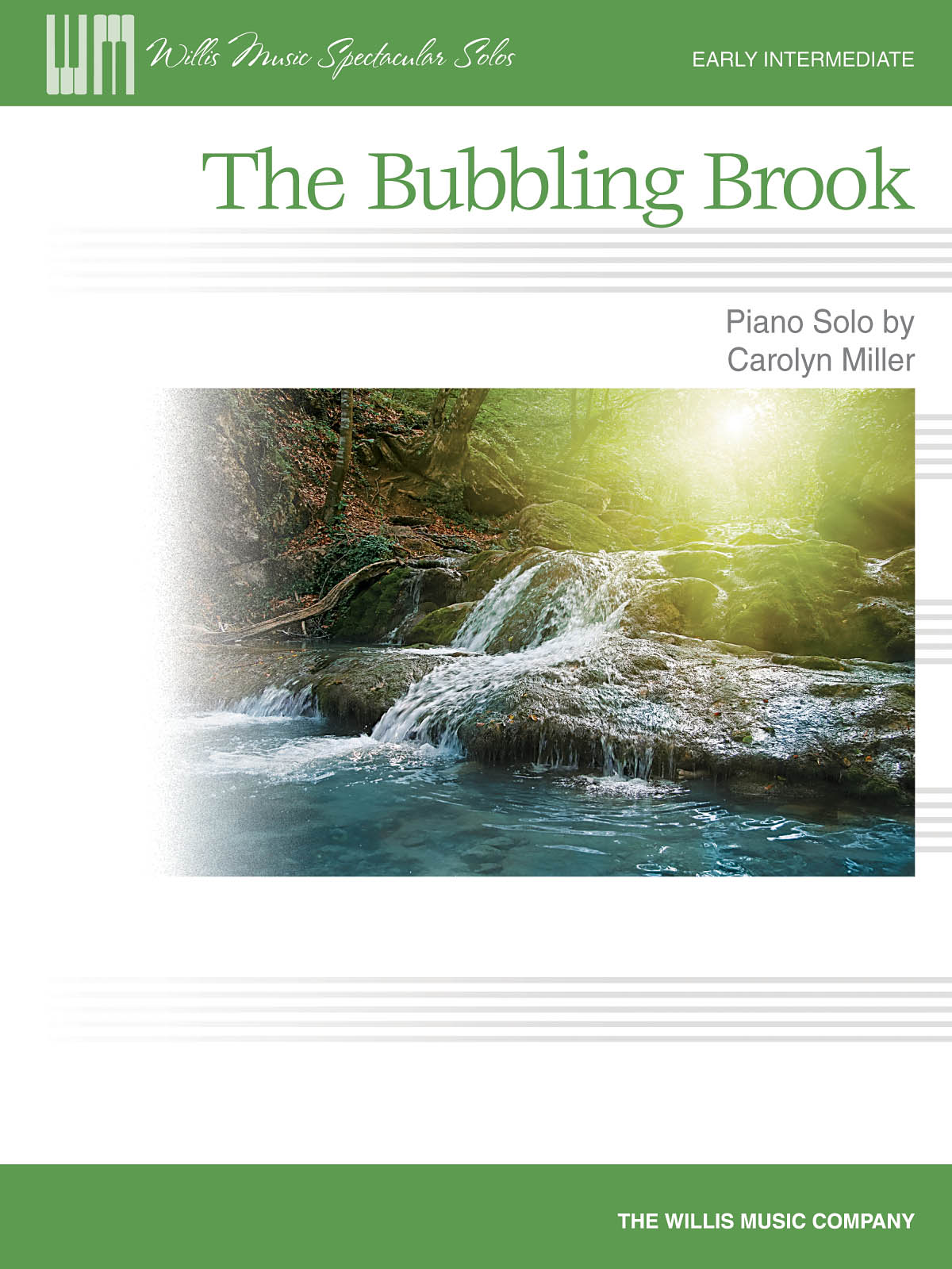 Carolyn Miller: The Bubbling Brook: Piano: Instrumental Work