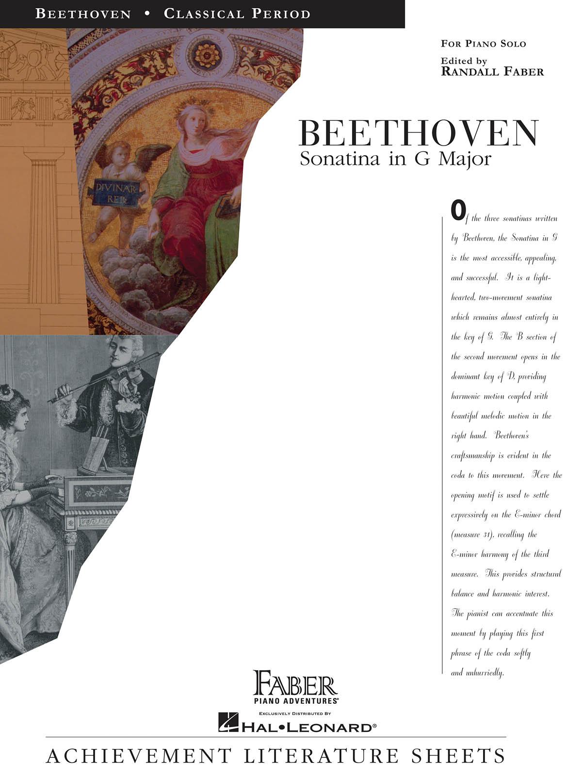 Ludwig van Beethoven: Sonatina in G Major: Piano: Instrumental Album