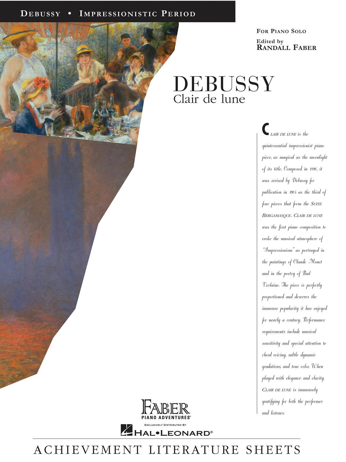 Claude Debussy: Clair de Lune: Piano: Instrumental Album