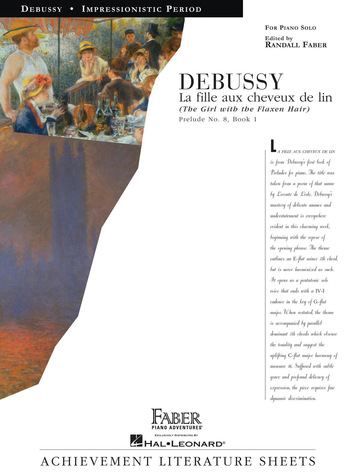Claude Debussy: La Fille Aux Cheveux De Lin: Piano: Instrumental Album