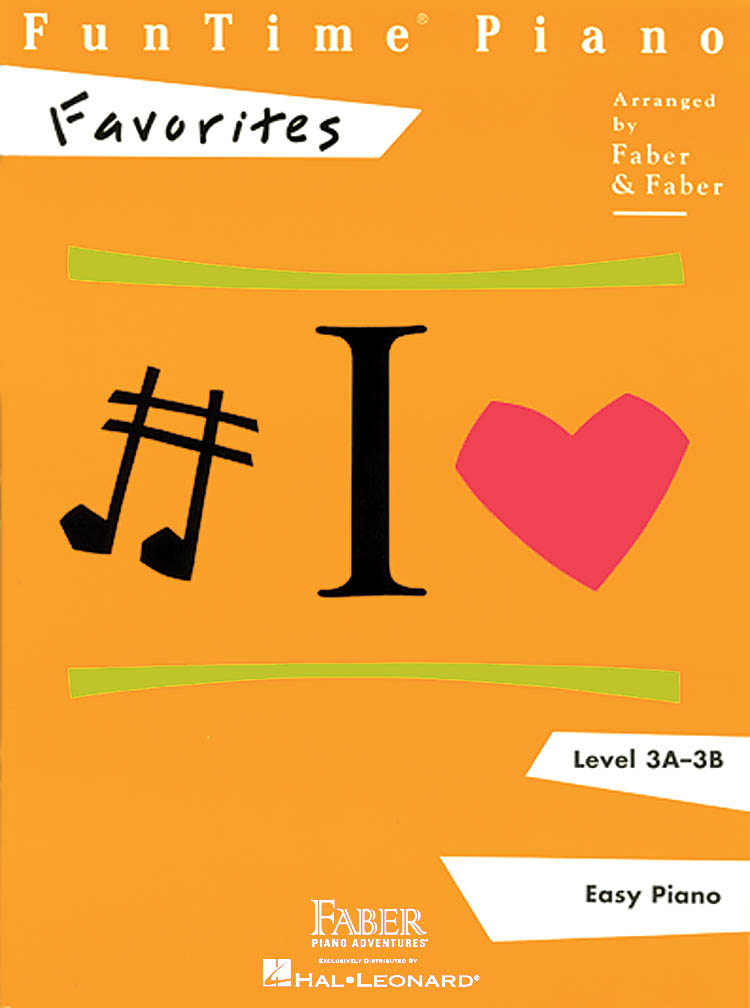 FunTime Piano Favorites Level 3A-3B: Piano: Instrumental Album