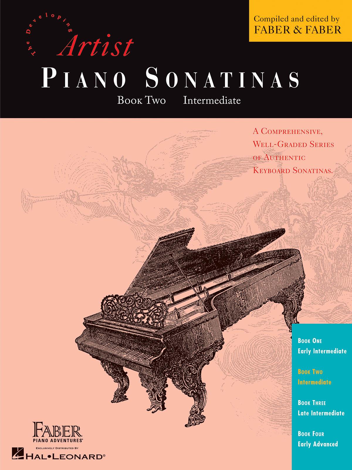 Piano Sonatinas - Book Two: Piano: Instrumental Album