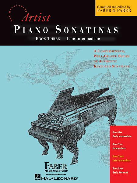 Piano Sonatinas - Book Three: Piano: Instrumental Album