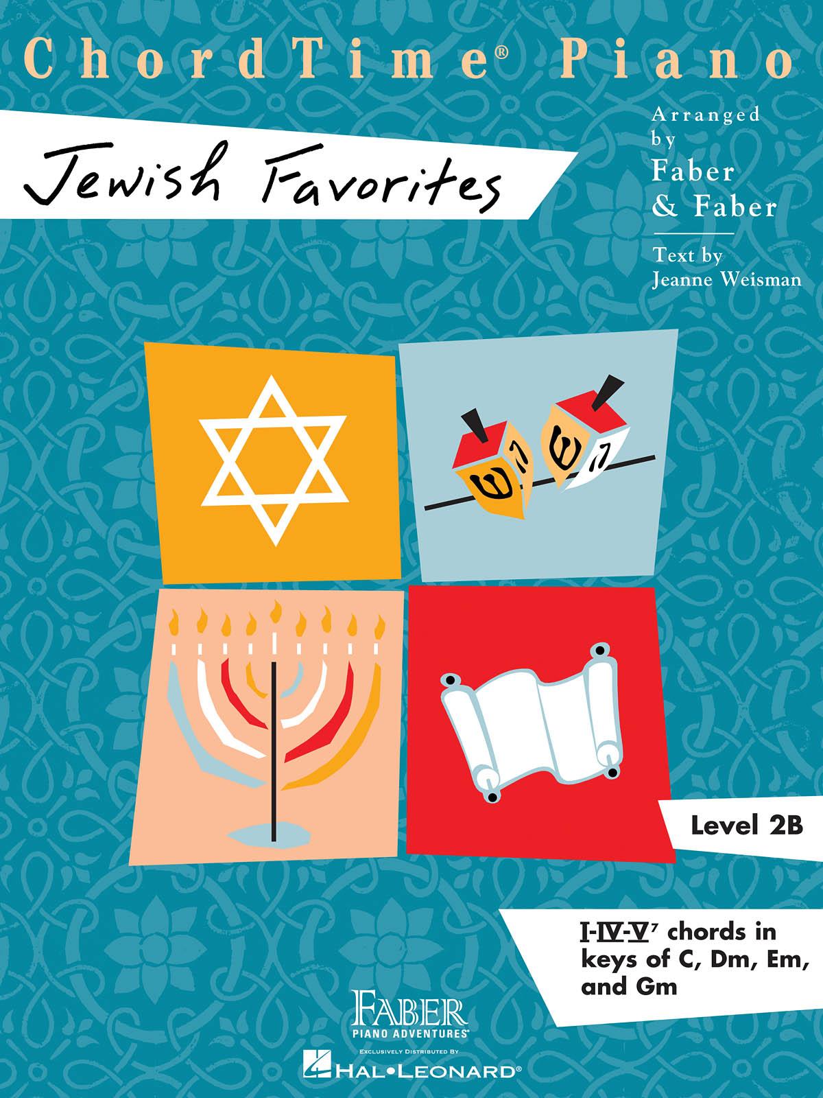 ChordTime Piano Jewish Favorites - Level 2B: Piano: Instrumental Album