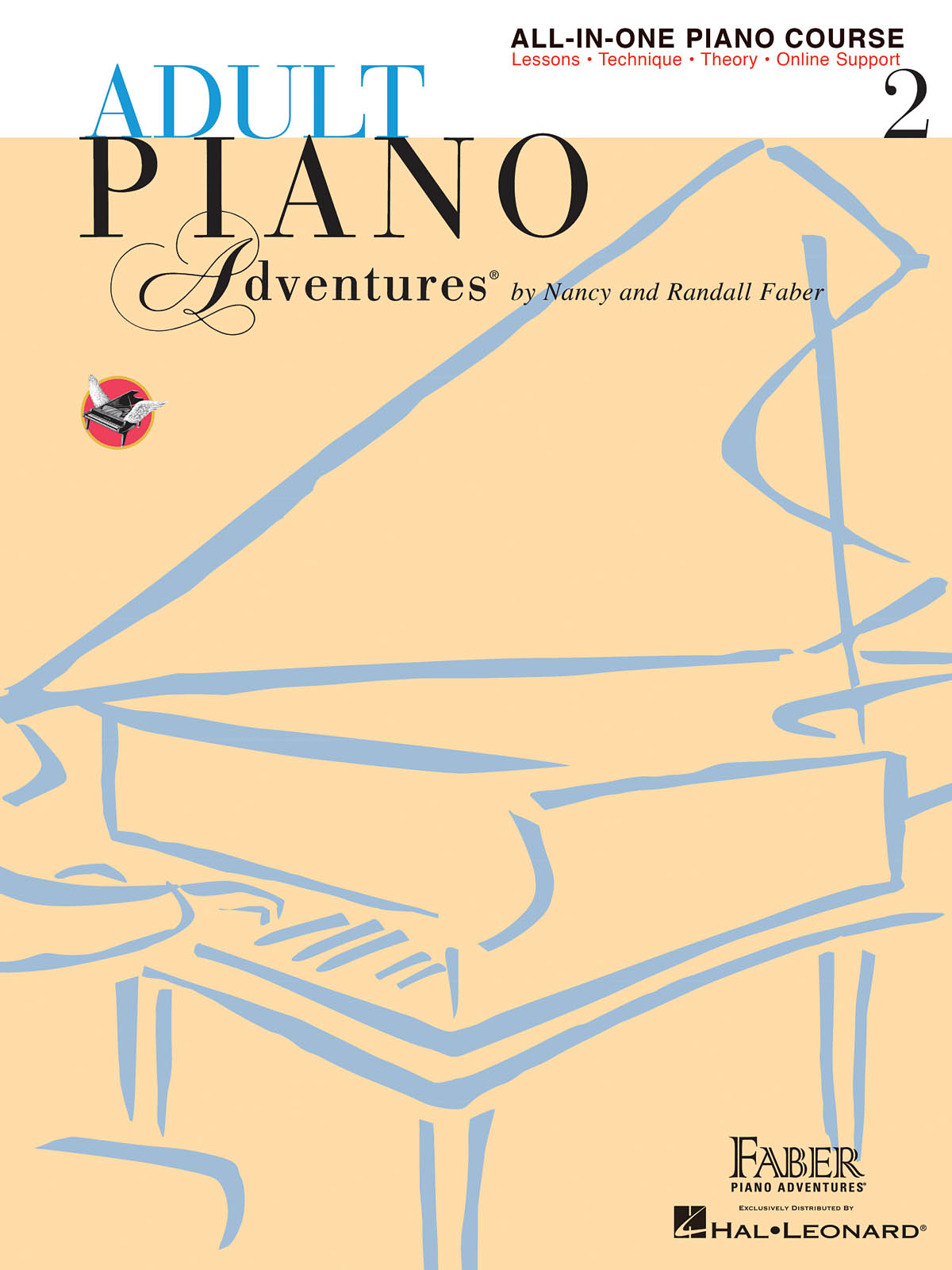 Nancy Faber Randall Faber: Adult Piano Adventures All-in-One Book 2: Piano: