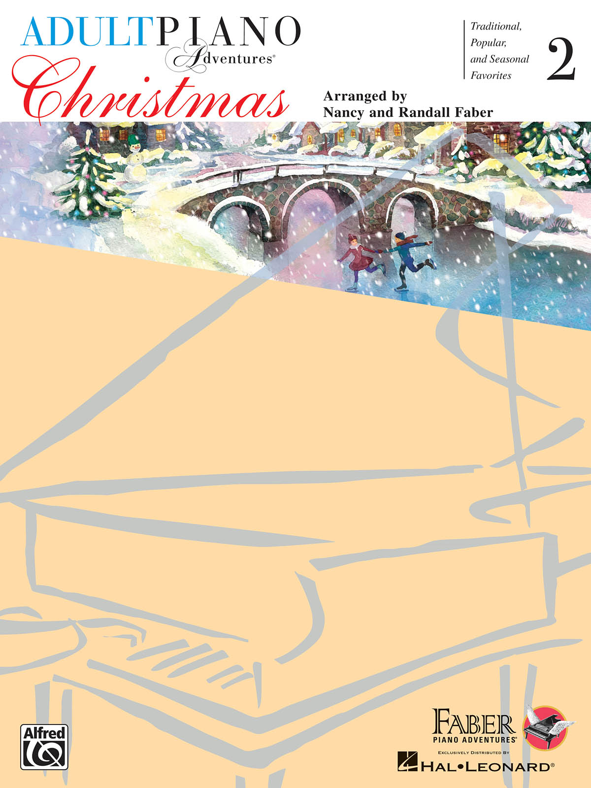 Nancy Faber Randall Faber: Adult Piano Adventures - Christmas Book 2: Piano: