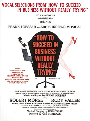 Frank Loesser: How to Succeed in Business Without Really Trying: Piano  Vocal
