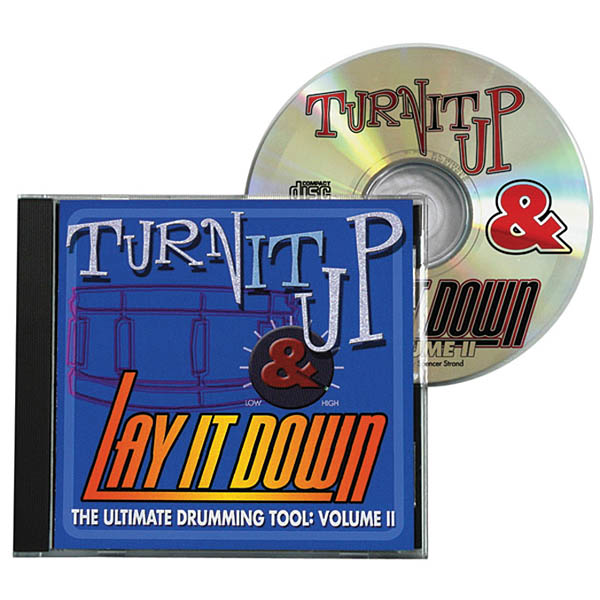 Turn It Up & Lay It Down  Vol. 2: Drums: Backing Tracks