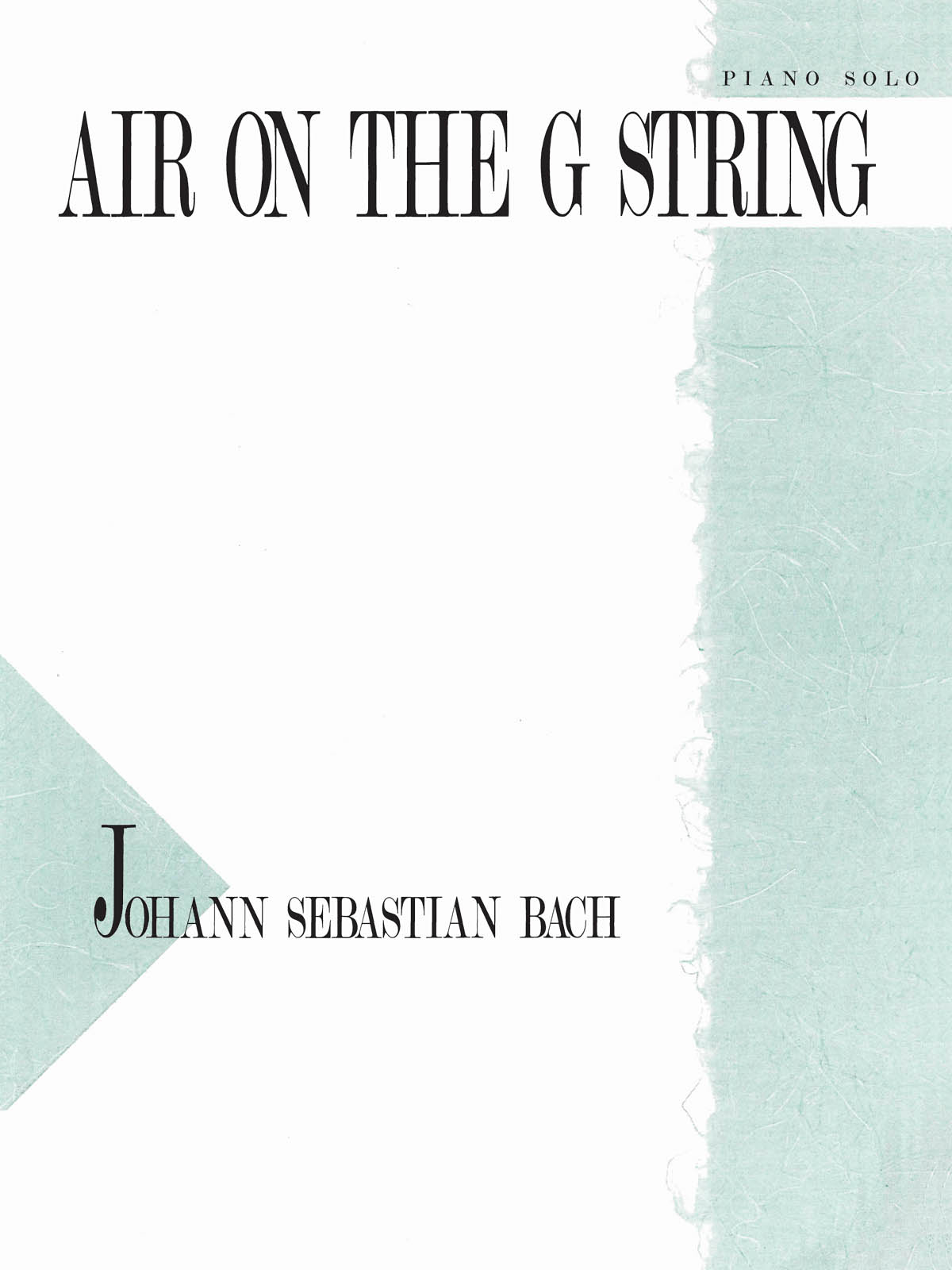 Air on the G String: Piano  Vocal and Guitar: Single Sheet