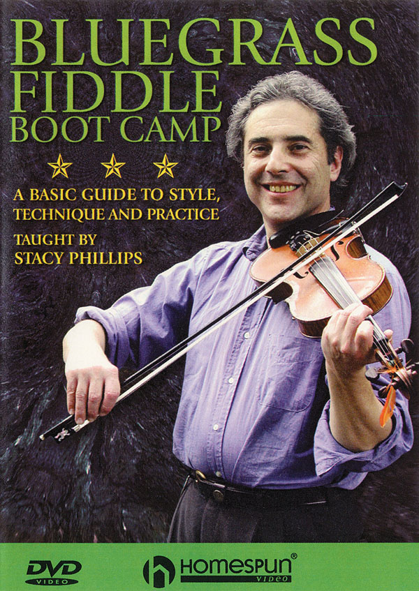 Stacy Phillips: Bluegrass Fiddle Boot Camp:: Violin Solo: Instrumental Tutor
