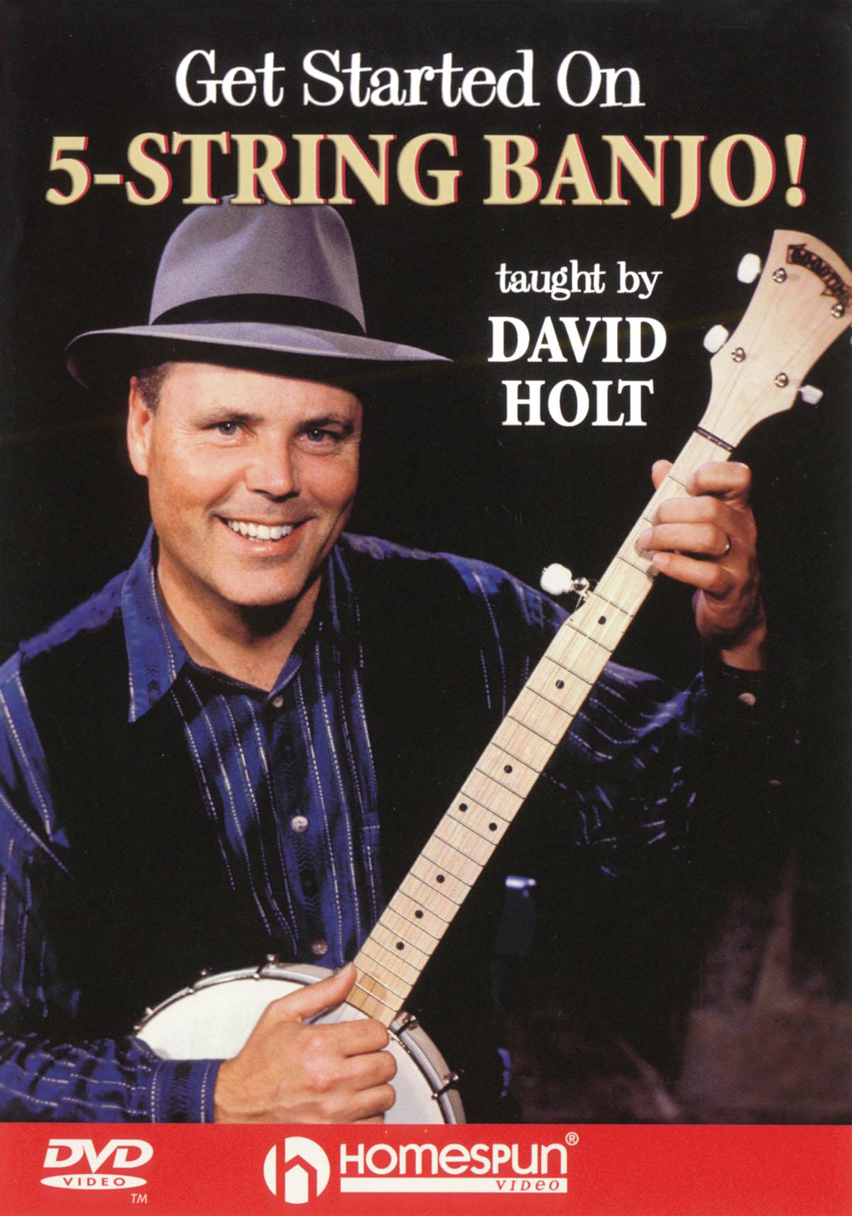 David Holt: Get Started On 5 String Banjo!: Banjo: Instrumental Tutor