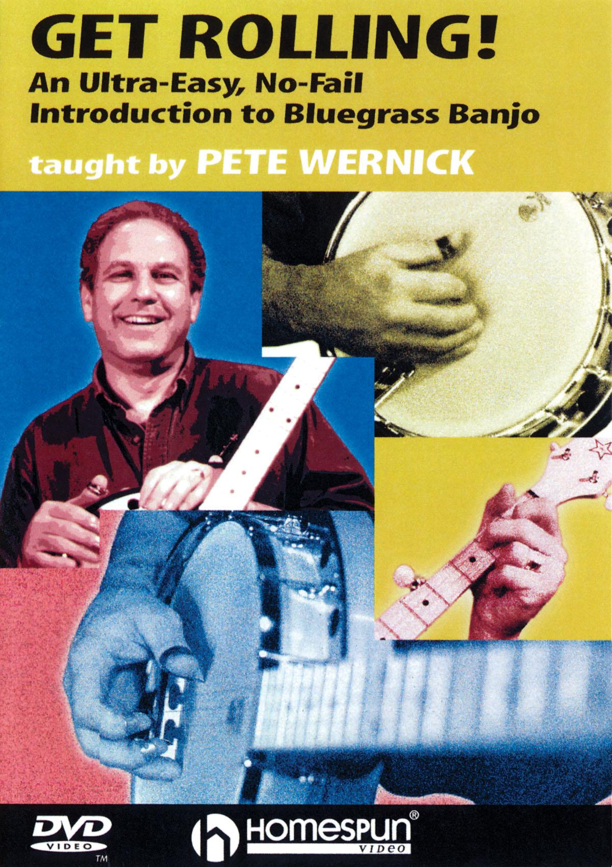 Pete Wernick: Get Rolling: Banjo: Instrumental Tutor
