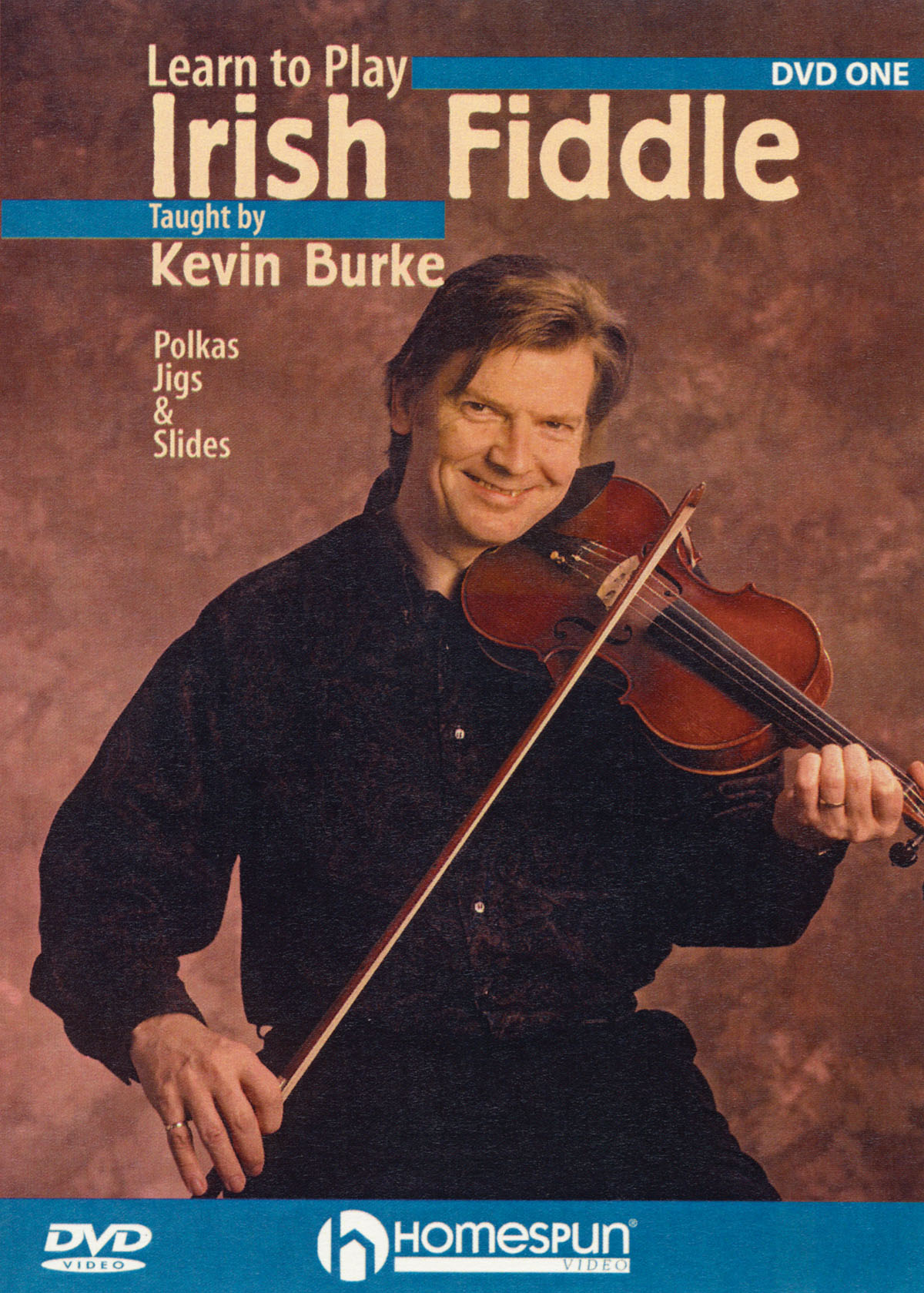 Kevin Burke: Learn to Play Irish Fiddle  Lesson One: Fiddle: Instrumental Tutor
