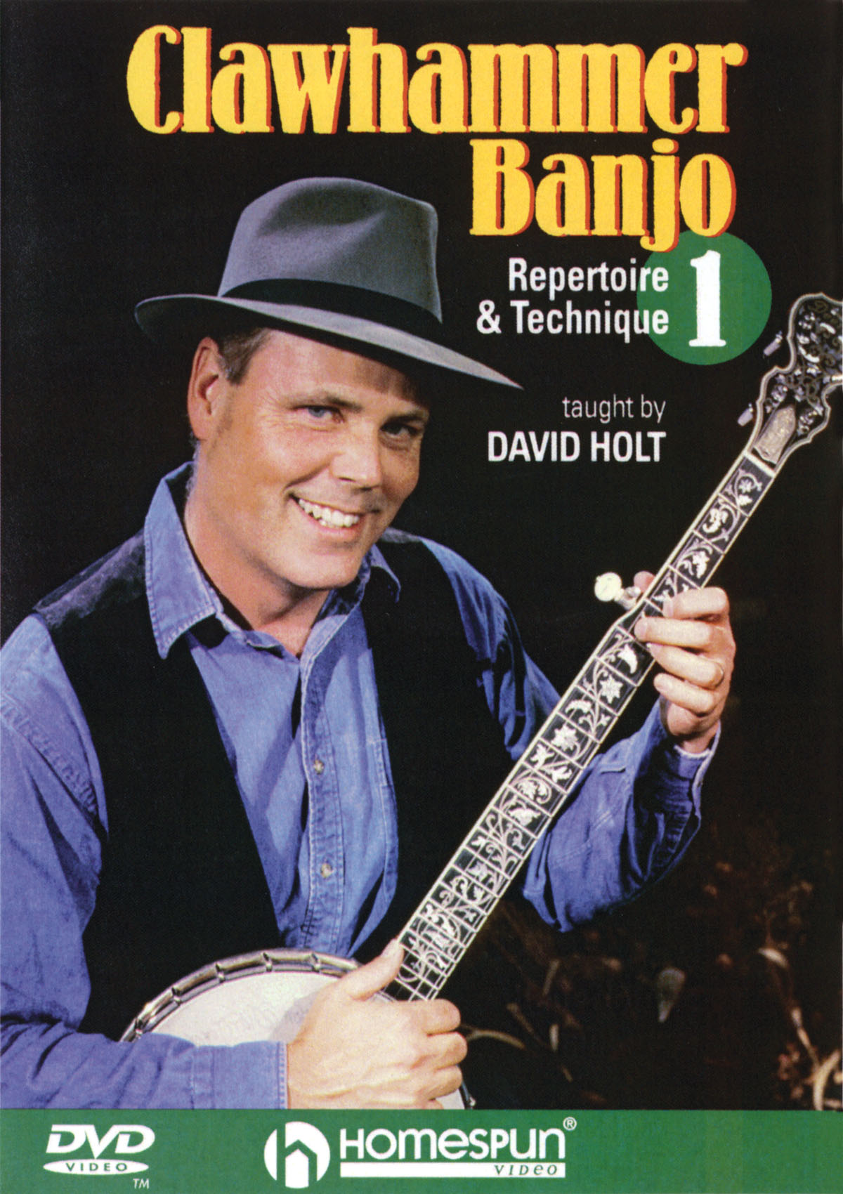 David Holt: Clawhammer Banjo 1: Banjo: Instrumental Tutor