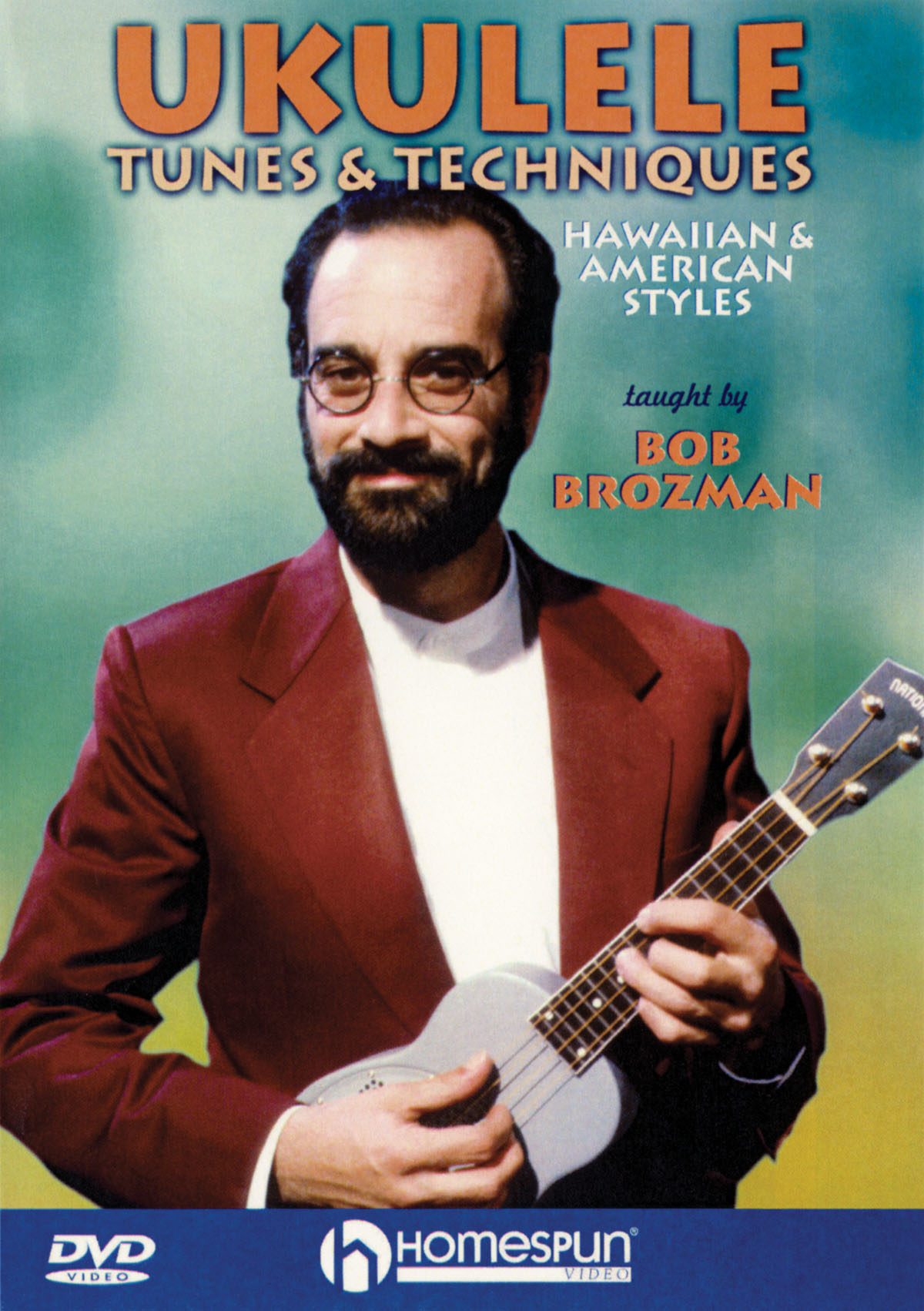 Bob Brozman: Ukulele Tunes and Techniques: Ukulele Solo: Instrumental Tutor