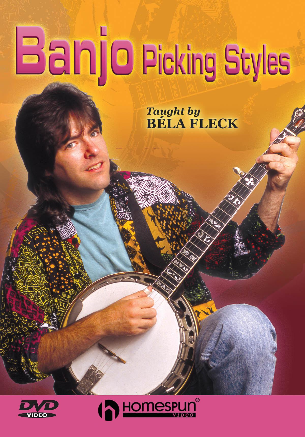 Bela Fleck: Banjo Picking Styles: Banjo: Instrumental Tutor