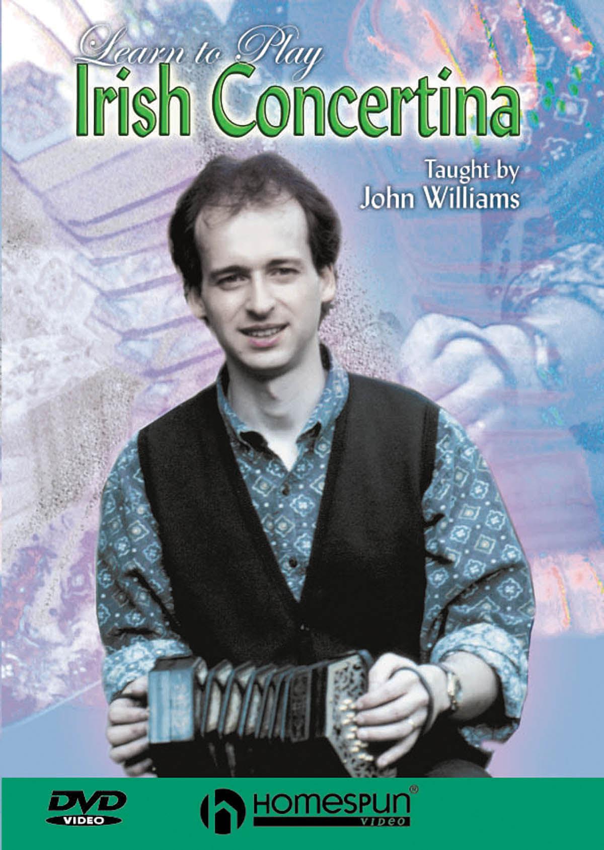 John Williams: Learn to Play Irish Concertina: Accordion Solo: Instrumental