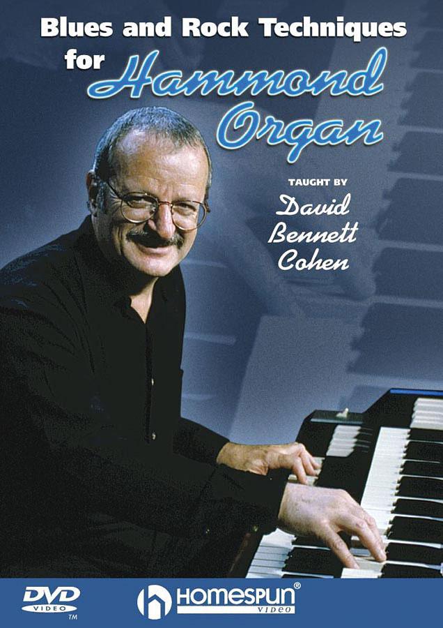 Blues And Rock Techniques For Hammond Organ: Organ: Instrumental Tutor
