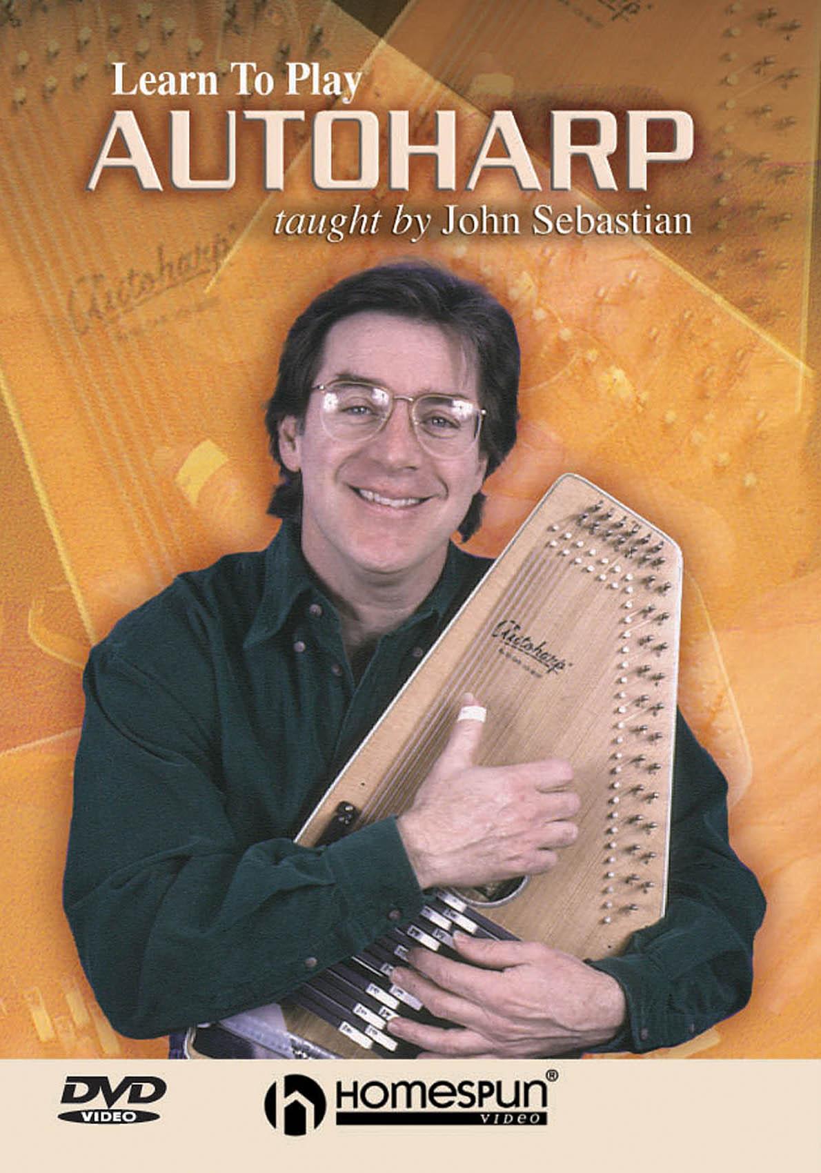 John Sebastian: Learn to Play Autoharp: Harp Solo: Instrumental Tutor