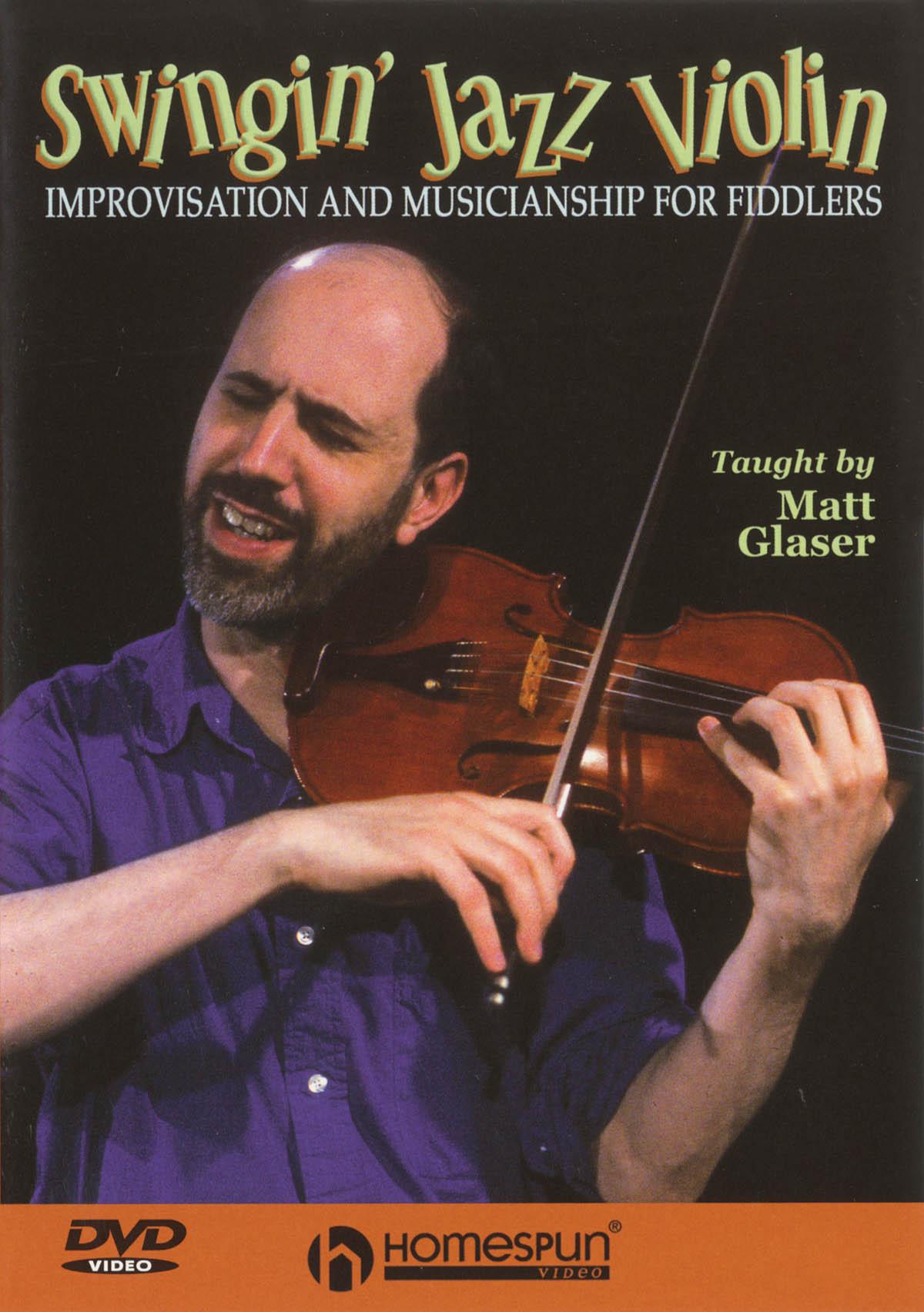 Matt Glaser: Swingin' Jazz Violin: Violin Solo: Instrumental Tutor