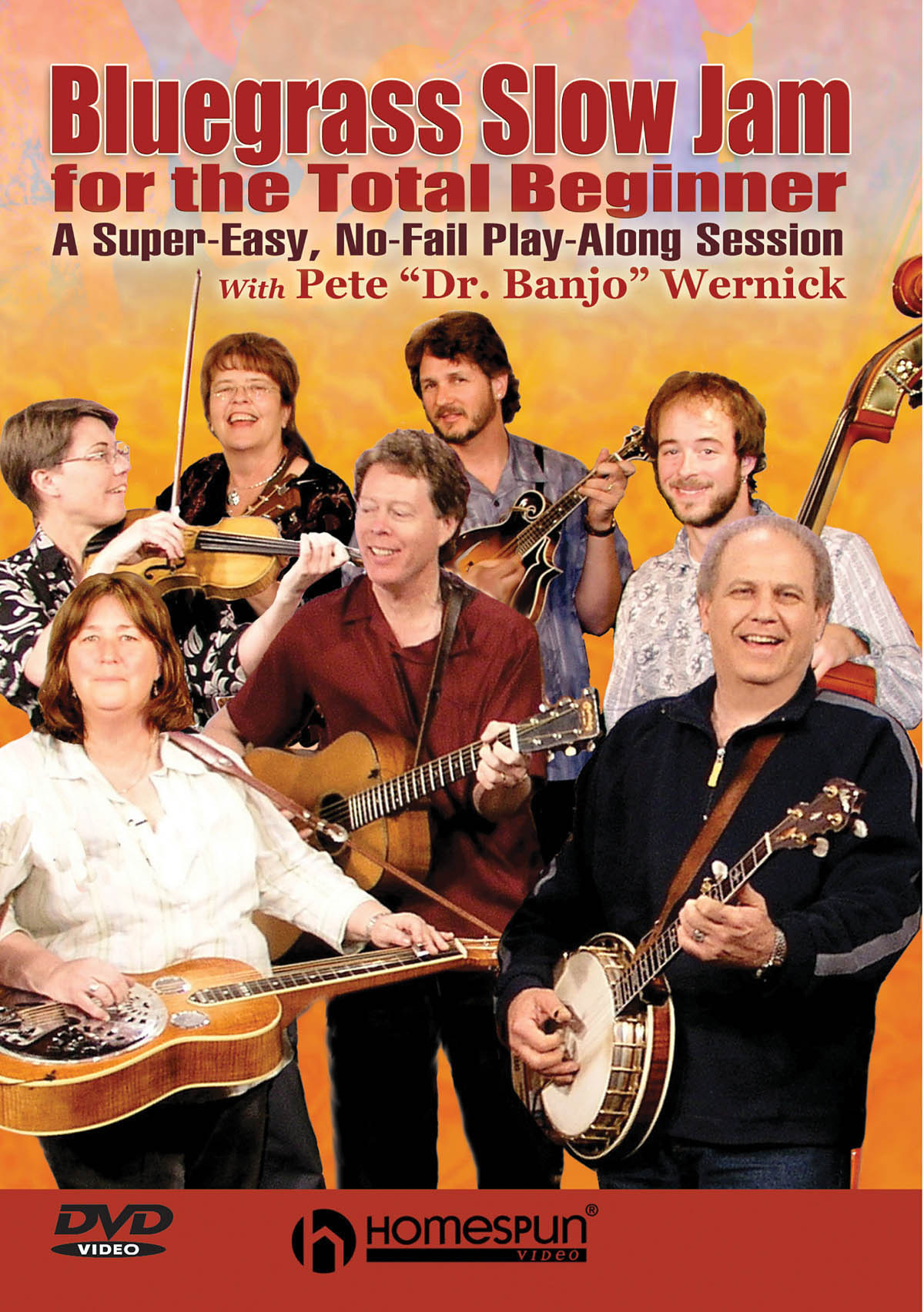 Pete Wernick: Bluegrass Slow Jam for the Total Beginner: Banjo: Backing Tracks