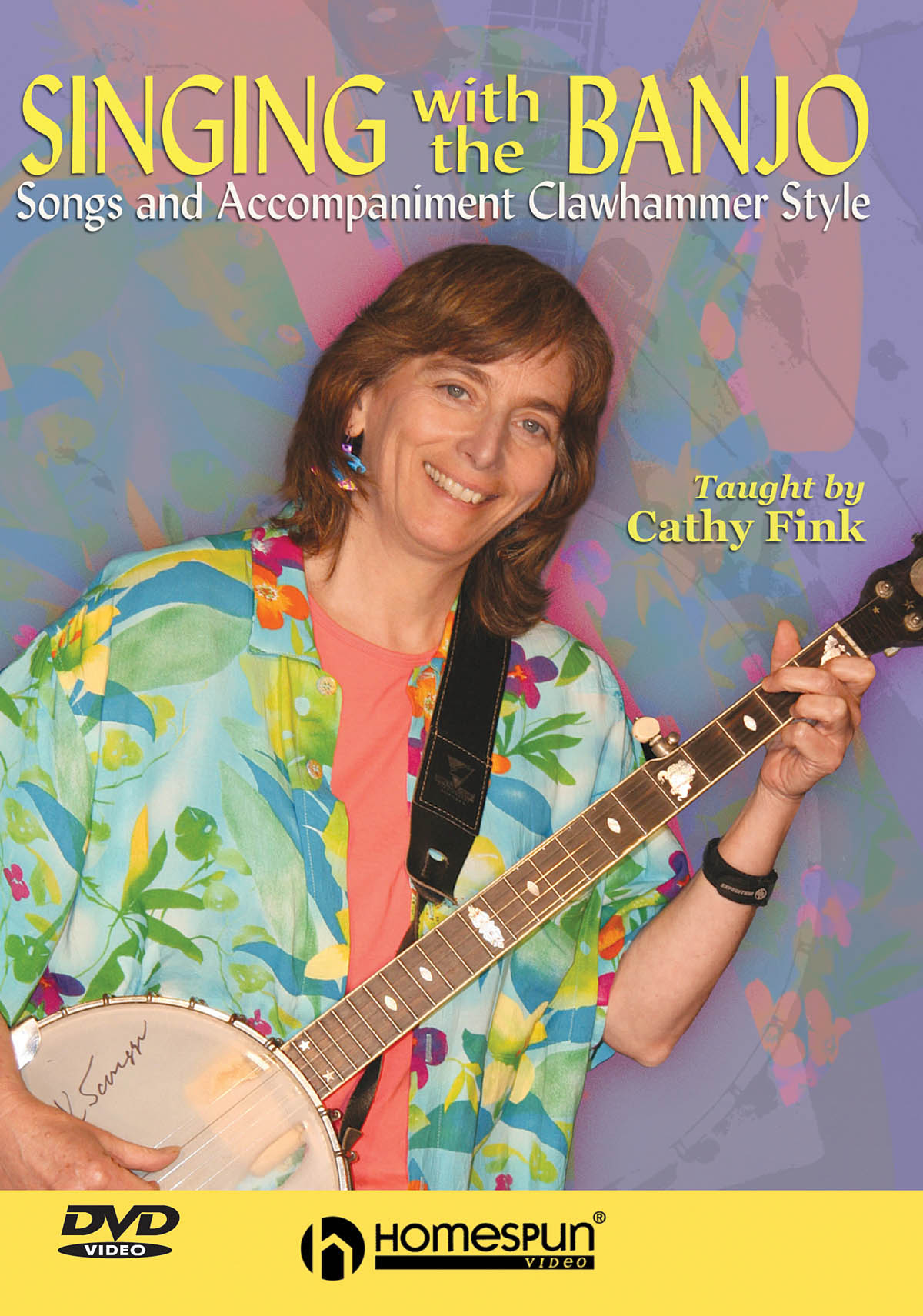 Cathy Fink: Singing With The Banjo: Vocal: Instrumental Tutor