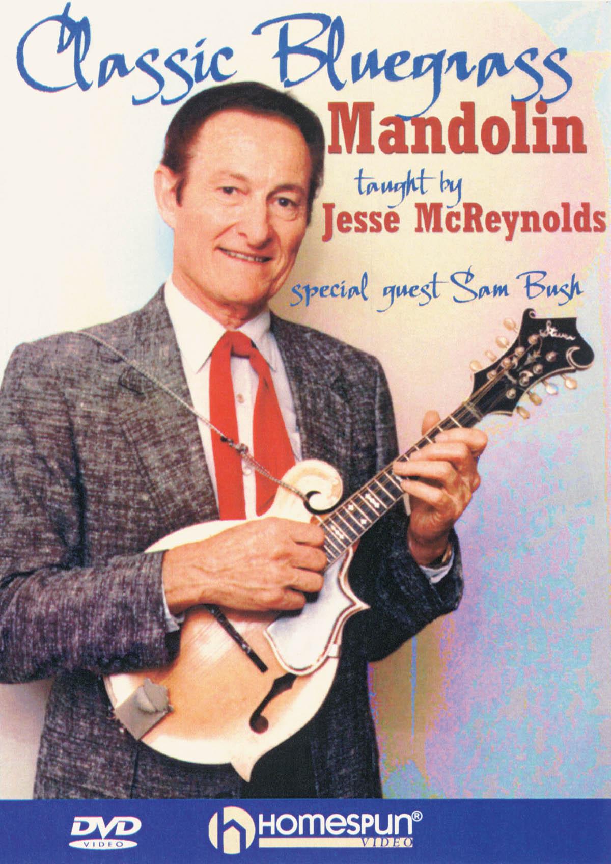 Jesse Mcreynolds: Classic Bluegrass Mandolin: Mandolin: Instrumental Tutor