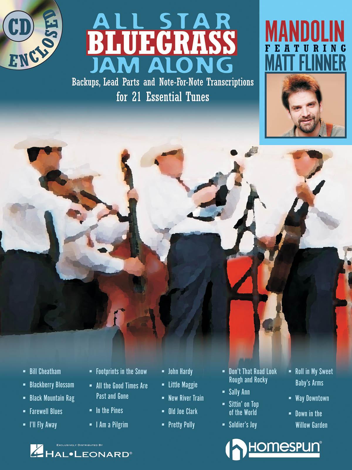 Matt Flinner: All Star Bluegrass Jam Along - Mandolin: Mandolin: Instrumental