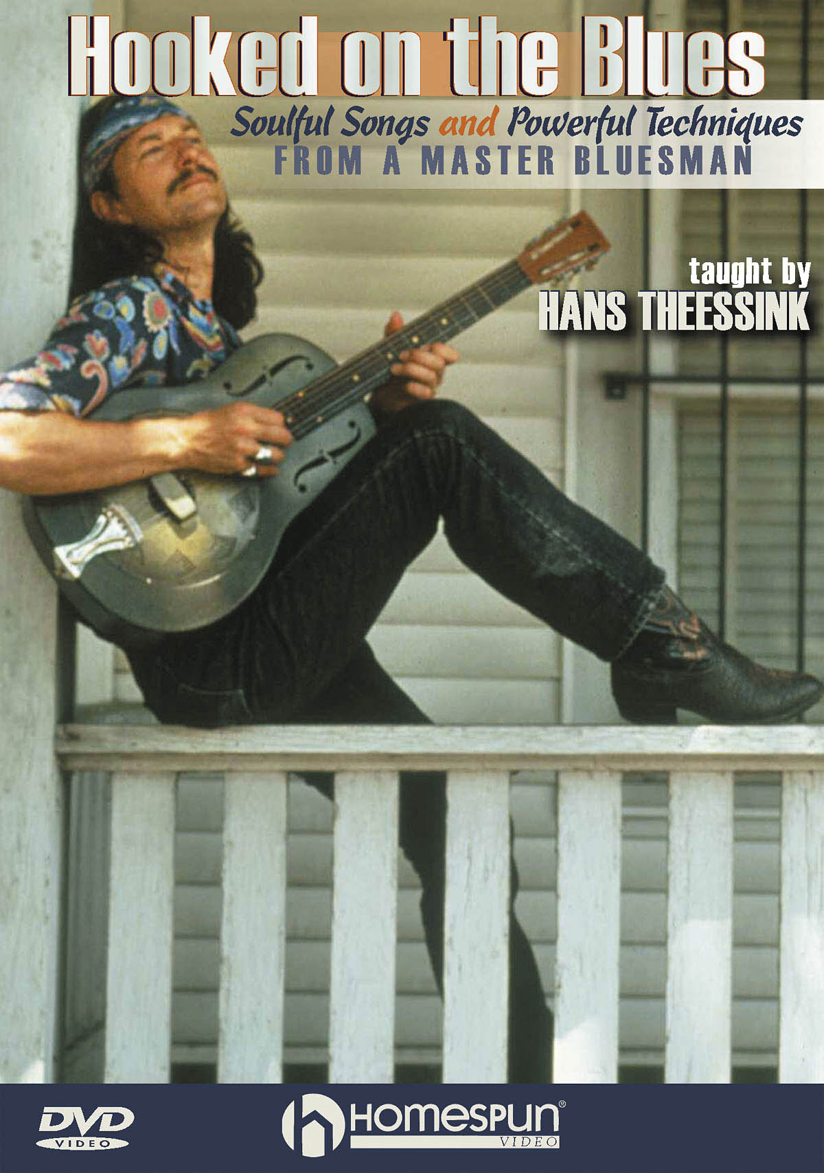 Hans Theessink: Hooked On The Blues: Guitar Solo: Instrumental Tutor