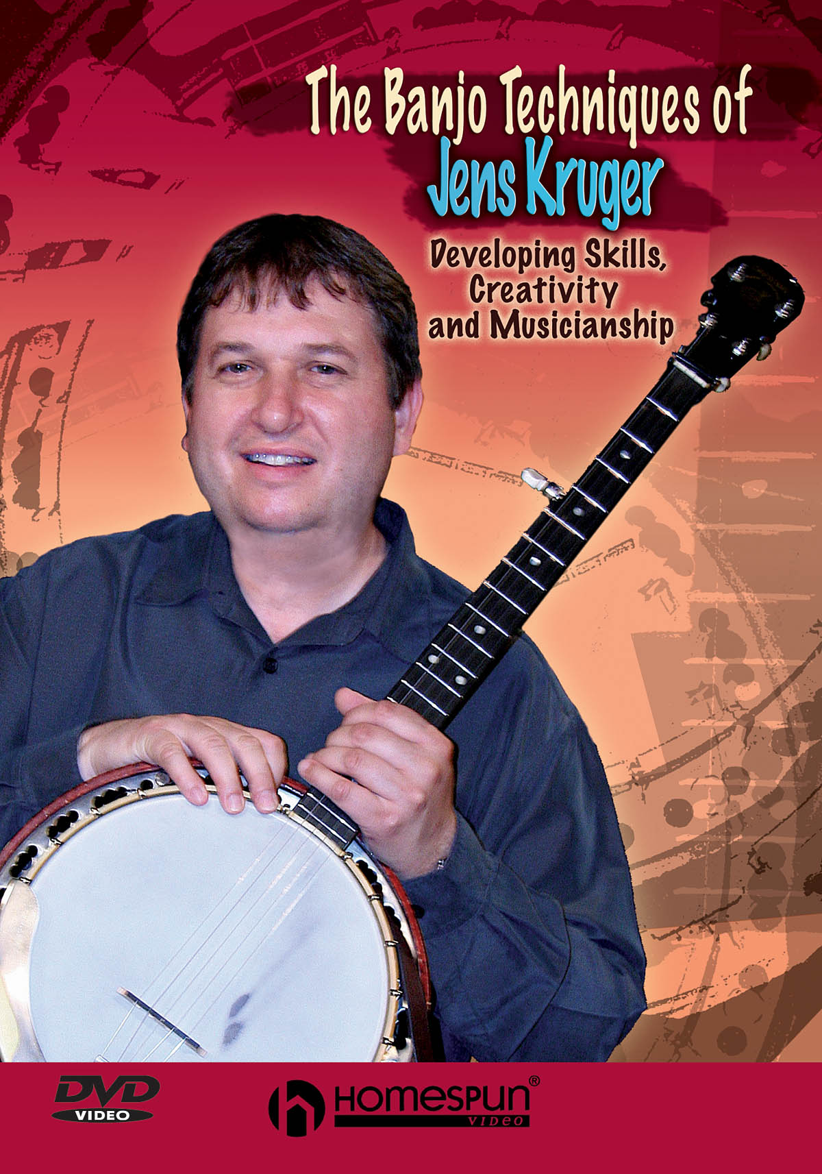 Jens Kruger: The Banjo Techniques of Jens Kruger: Banjo: Instrumental Tutor