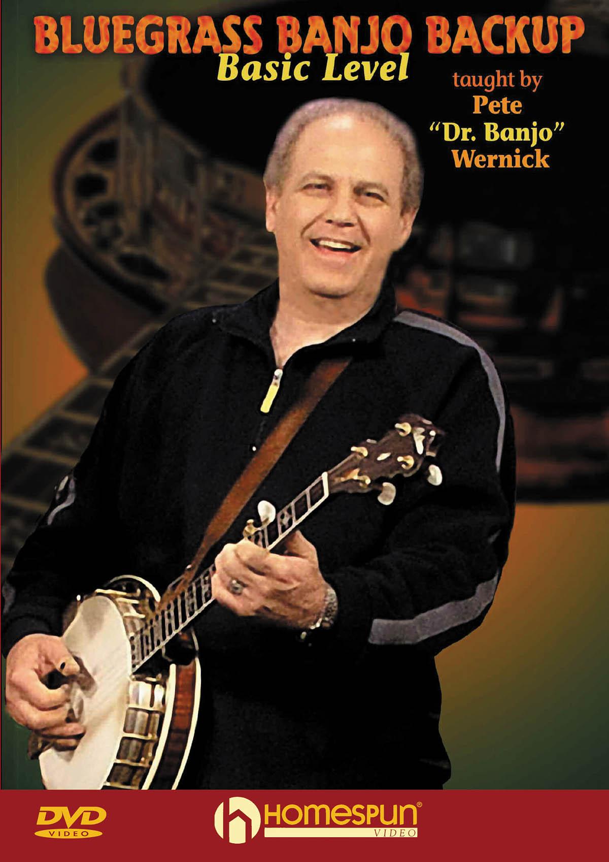 Pete Wernick: Bluegrass Banjo Backup: Banjo: Instrumental Tutor