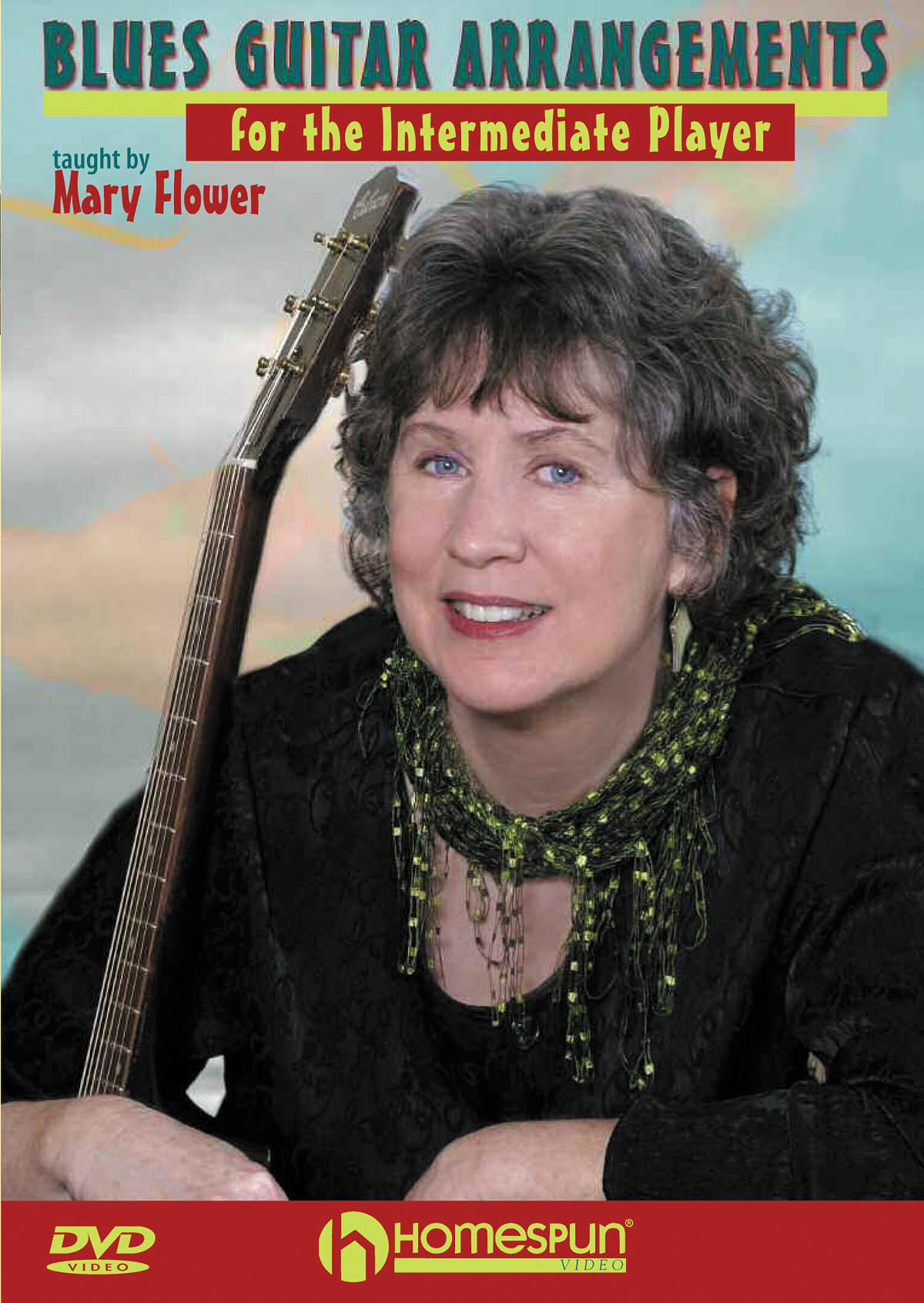 Mary Flower: Blues Guitar Arrangements For Intermediate Player: Guitar Solo: