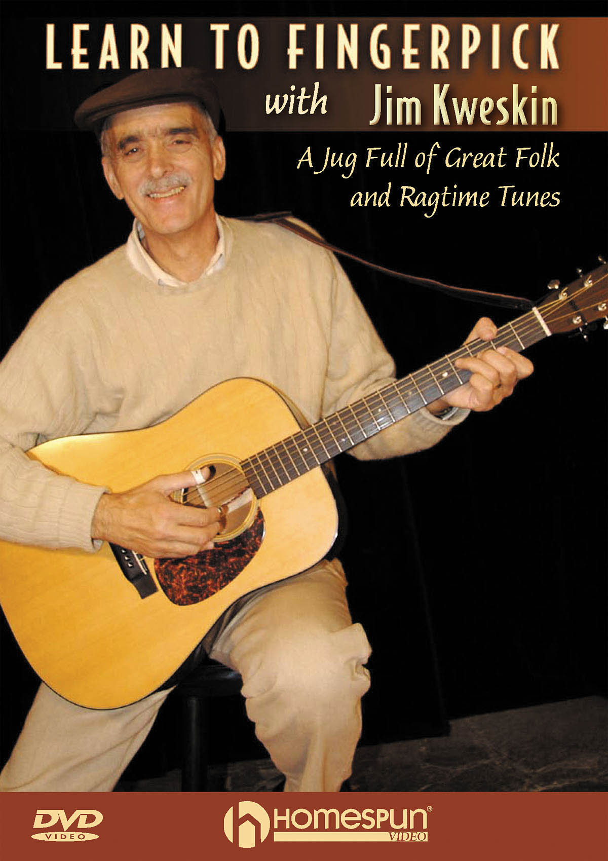 Jim Kweskin: Learn To Fingerpick: Guitar Solo: Instrumental Reference