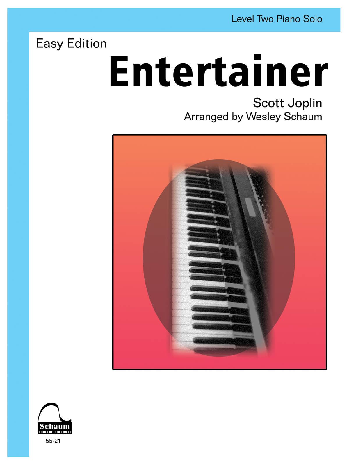 Scott Joplin: Entertainer: Piano: Instrumental Album