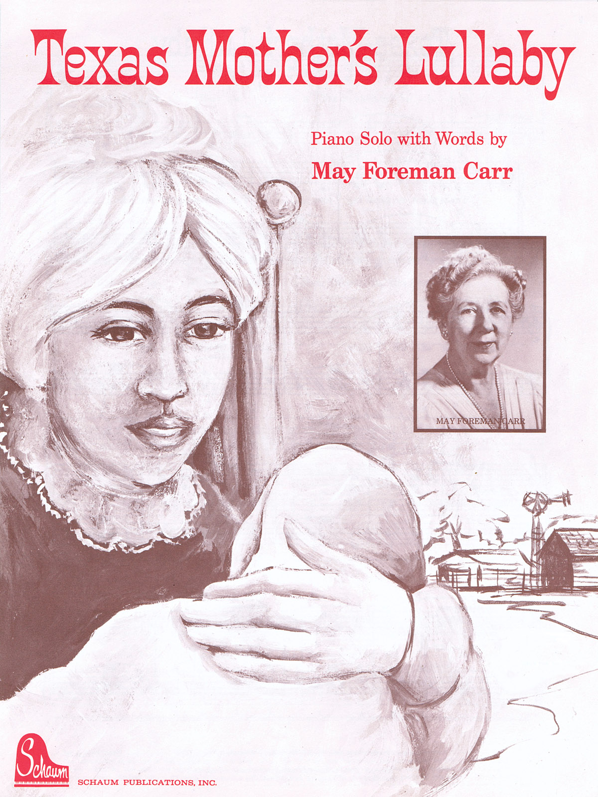 Texas Mothers Lullaby: Piano: Instrumental Album